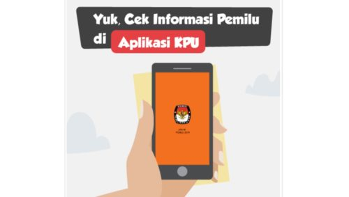 Aplikasi Resmi dari KPU