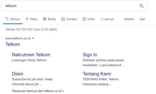 Cek Tagihan Telkom Melalui Website