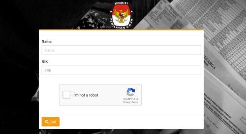Situs Resmi KPU