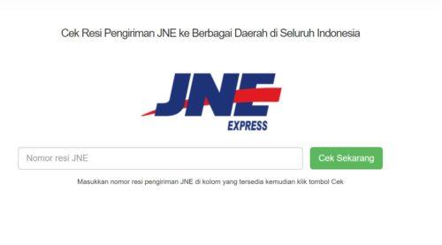 Website Cek Resi