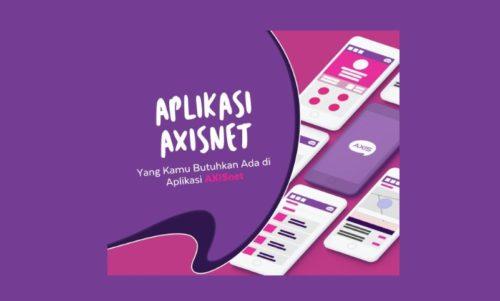 Cara Cek Nomor, Pulsa dan Kuota Kartu Axis via Aplikasi AXIS net