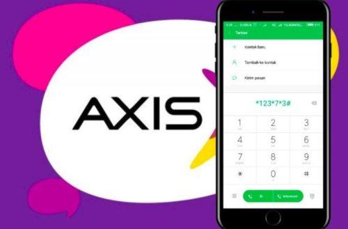 Cara Cek Nomor, Pulsa dan Kuota Kartu Axis via Kode Dial