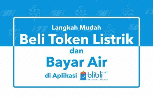 Cek Tagihan Air PDAM Melalui Blibli.com