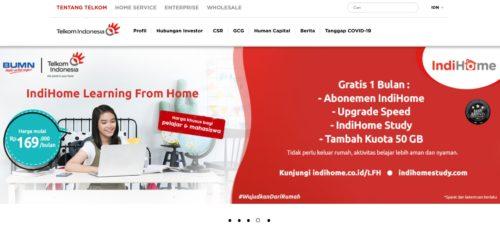 Cek Tagihan Indihome Via Website Telkom