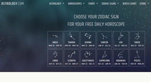 Situsweb Zodiak