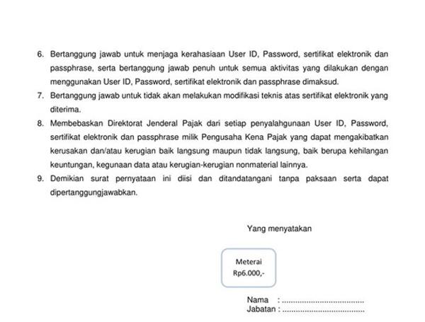 surat persetujuan penggunaan sertifikat elektronik